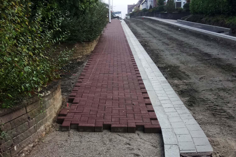 Neubau der Danziger Straße in Uslar