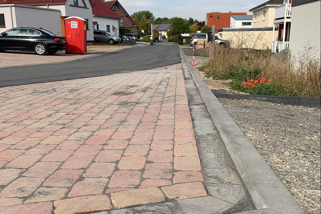 Hevensen, Endausbau Neubaugebiet