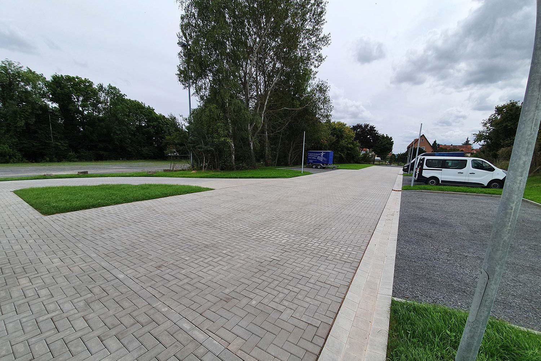 Neubau Multifunktionshalle, Außenanlagen